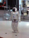 ASIMO登場