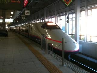 新幹線で盛岡へ